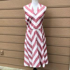 Isaac Mizrahi dress for Target striped dress sz 12